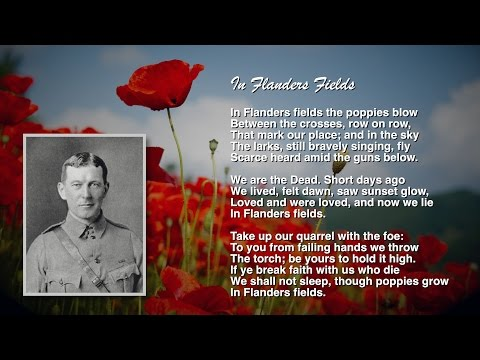 In Flanders Fields Centennial Commemoration 2015